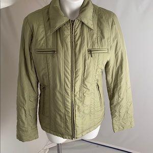 Utex Design green lightweight fitted jacket M